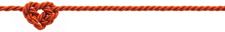 knot on white bg
